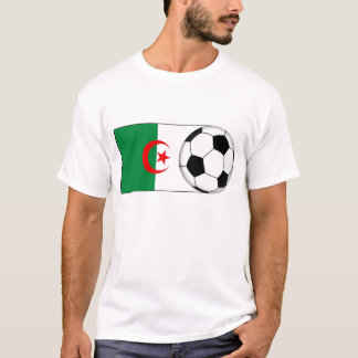 T-shirt Le football de l'Algérie
