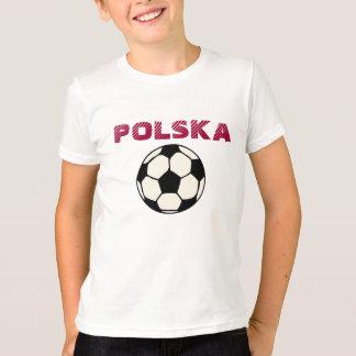 T-shirt Le football de Polska