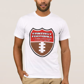 T-shirt Le football d'imaginaire