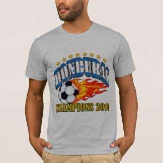T-shirt Le football du Honduras