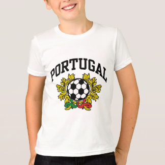 T-shirt Le football du Portugal