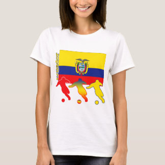 T-shirt Le football Equateur