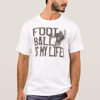 T-shirt Le football est ma vie
