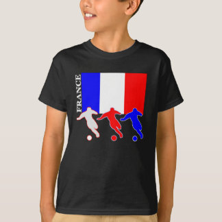 T-shirt Le football France
