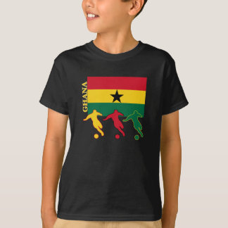T-shirt Le football Ghana
