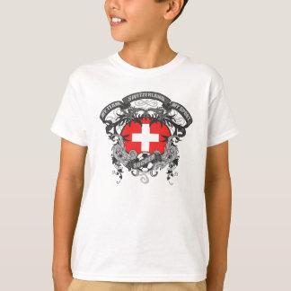 T-shirt Le football Suisse