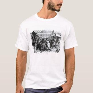 T-shirt Le football sur le marché des juifs, St Petersburg