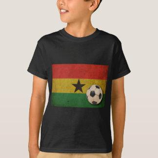 T-shirt Le football vintage du Ghana