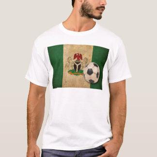 T-shirt Le football vintage du Nigéria