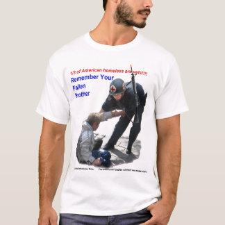 T-shirt Le frère tombé