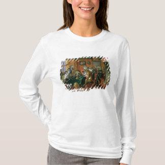 T-shirt Le fumoir avec des singes