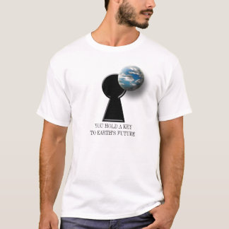 T-shirt Le futur activisme de l'environnement de la terre