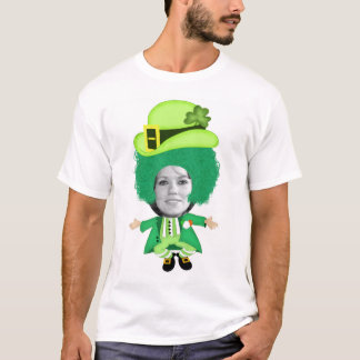 T-shirt Le gabarit irlandais de Jour de la Saint Patrick,