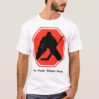 T-shirt Le galet s'arrête ici