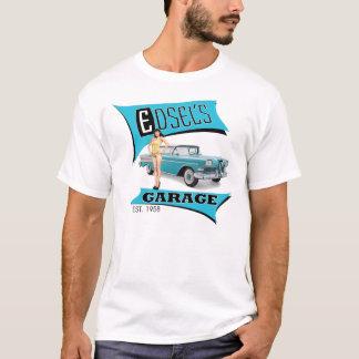 T-shirt Le garage d'Edsel dans le bleu