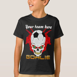 T-shirt Le gardien de but du football badine tous les
