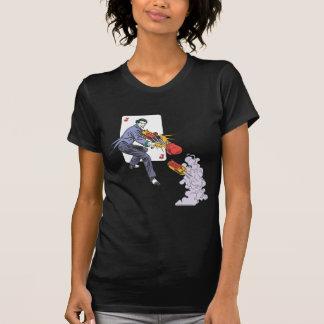 T-shirt Le gaz hilarant de pousses de joker