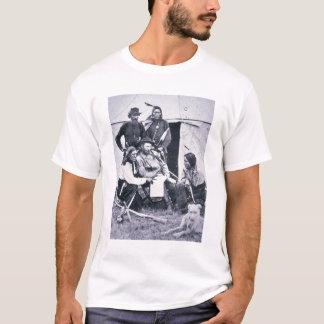 T-shirt Le Général George A. Custer (1839-76) avec son