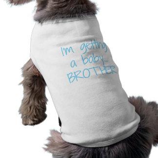 T-shirt Le genre indiquent la pièce en t de chien - frère