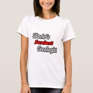 T-shirt Le géologue le plus sexy du monde