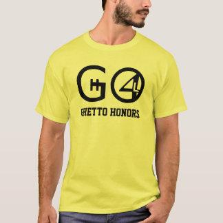 T-shirt Le ghetto honore la chemise (les couleurs claires)