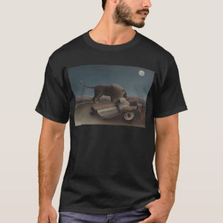 T-shirt Le gitan de sommeil par Henri Rousseau
