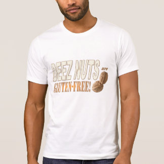 T-shirt Le gluten de Deez libèrent des écrous