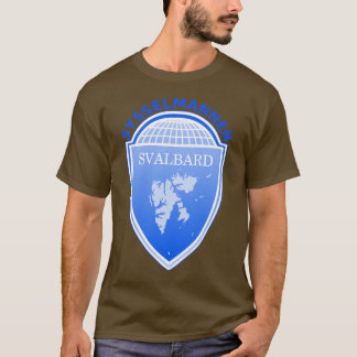 T-shirt le Gouverneur le Svalbard, Norvège