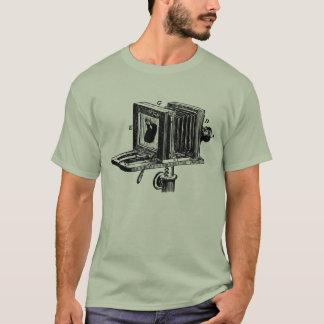 T-shirt Le grand format beugle l'appareil-photo