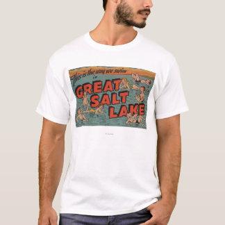 T-shirt Le Grand Lac Salé, manière d'UtahThe nous SwimUtah