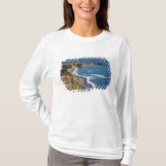 T-shirt Le grand littoral de Sur en Californie, Etats-Unis