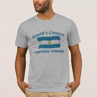 T-shirt Le grand-papa argentin le plus frais