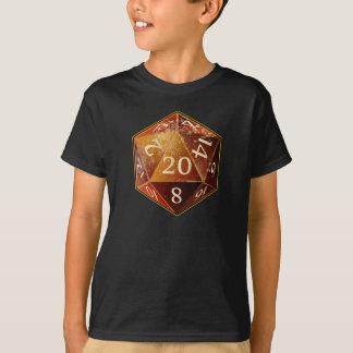 T-shirt Le grès de D&D d20 et le SAHARA bronzage meurent