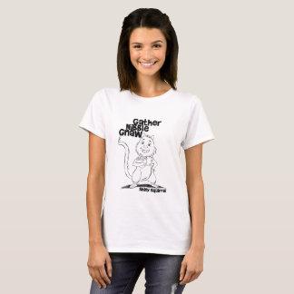 T-shirt Le grignotement de rassemblement rongent pour des