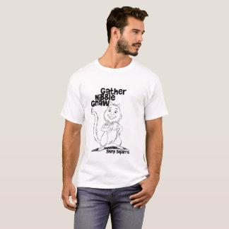 T-shirt Le grignotement de rassemblement rongent pour les