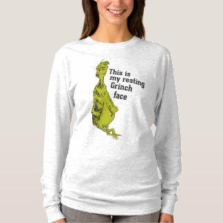T-shirt Le Grinch | Grinch de repos font face