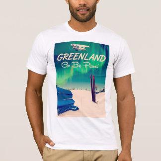 T-shirt Le Groenland 'vont en avion ! '