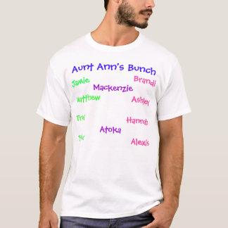 T-shirt Le groupe de la tante