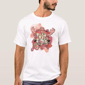 T-shirt Le groupe impair