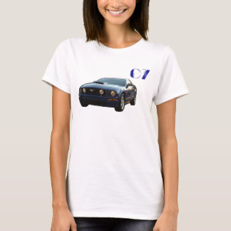 T-shirt Le GT, mustang, 2007