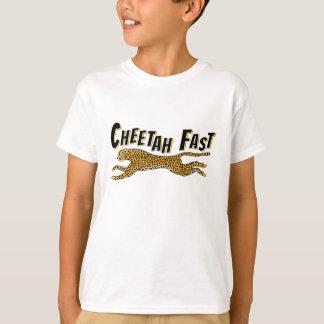 T-shirt Le guépard de l'animal sauvage des enfants