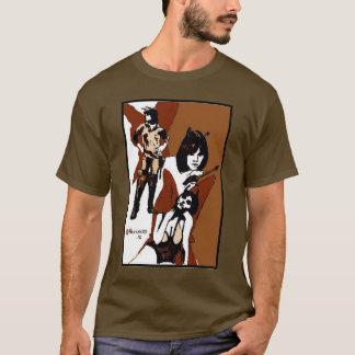T-shirt Le guerrier de papillon