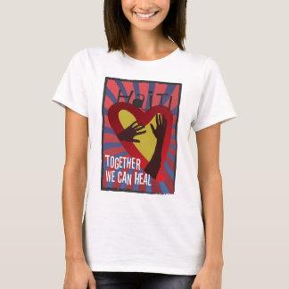T-shirt Le HAÏTI - ensemble nous pouvons guérir