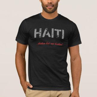 T-shirt Le HAÏTI,… secoué mais non cassé !