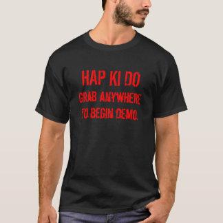 T-SHIRT LE HASARD KI FONT
