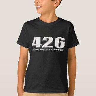 T-shirt Le hemi de Dodge 426 disparaissent Mopar rapide