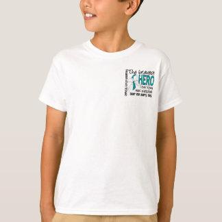 T-shirt Le héros le plus courageux j'ai jamais connu le