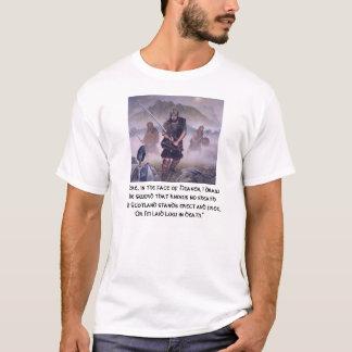 T-shirt Le héros William Wallace de l'Ecosse