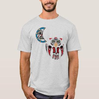 T-shirt Le hibou et la lune