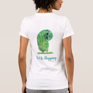 T-shirt Le hibou lunatique soit hibou de achat dans vert